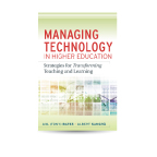 "Image of Tony Bates's book cover ""Managing Technology"""