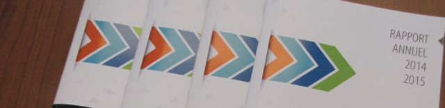 Banner for Annual Report 2014 15
